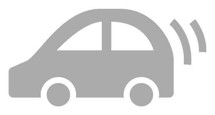 Web制作の車のシルエット