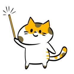 seo対策について教える猫の先生