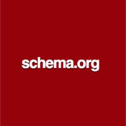 schema.orgと書いてある朱色のバナー